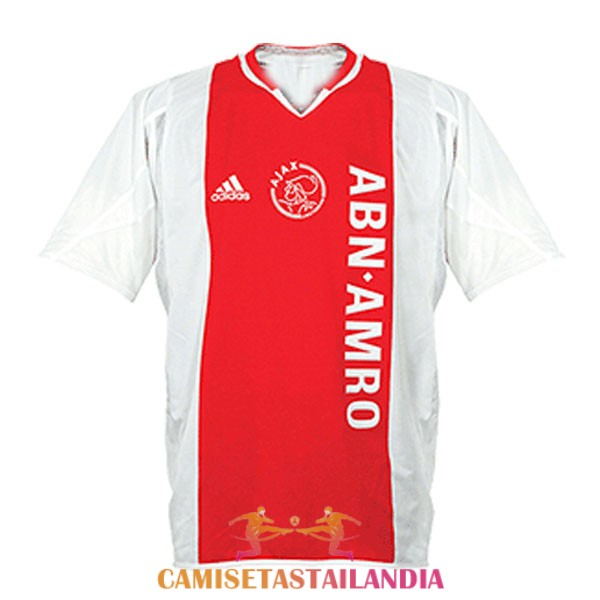 camiseta primera ajax retro 2004-2005