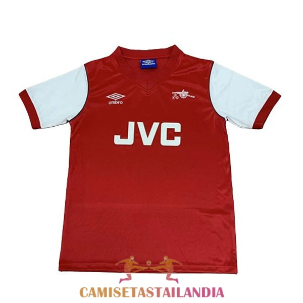camiseta primera arsenal retro 1981-1982