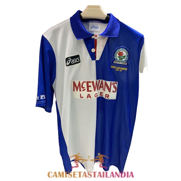 camiseta primera blackburn rovers retro 1994-1995