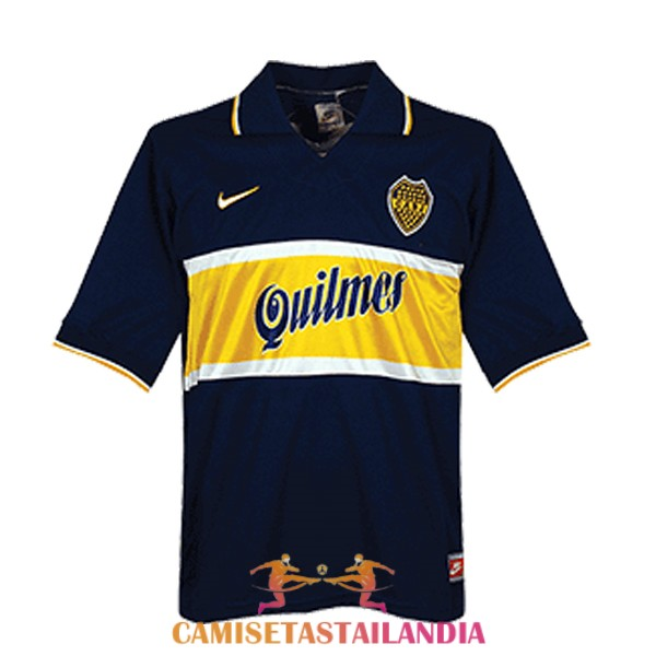 camiseta primera boca juniors retro 1996-1997