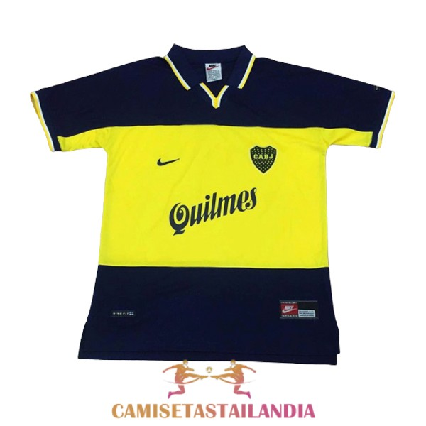 camiseta primera boca juniors retro 1998-1999