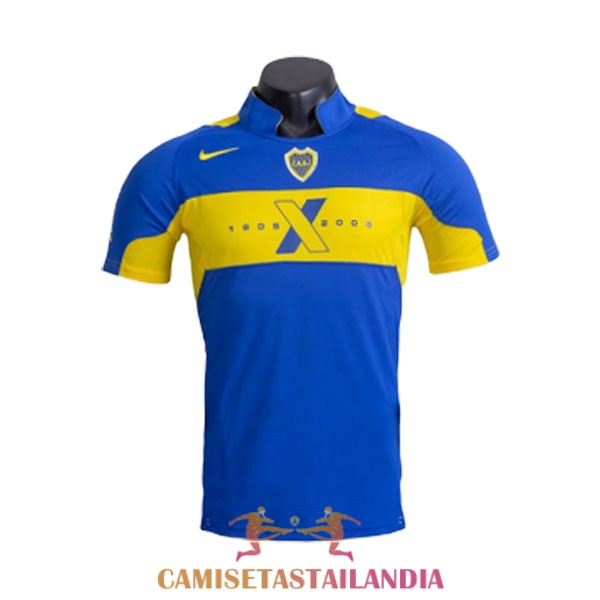 camiseta primera boca juniors retro 2005