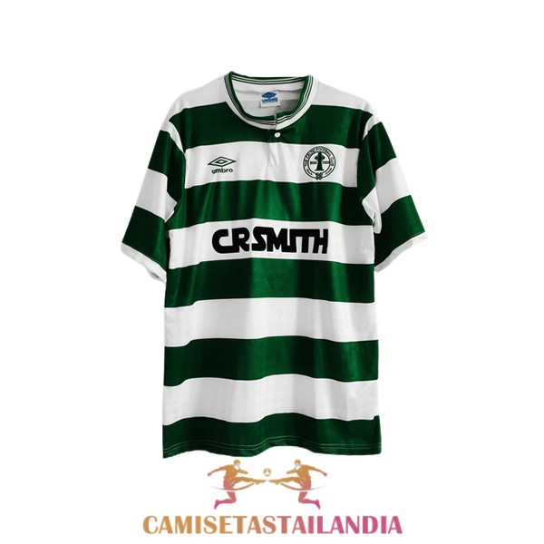 camiseta primera celtic retro 1987-1989