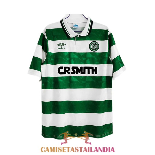 camiseta primera celtic retro 1989-1991