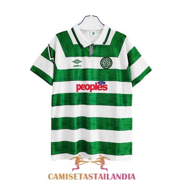 camiseta primera celtic retro 1991-1992