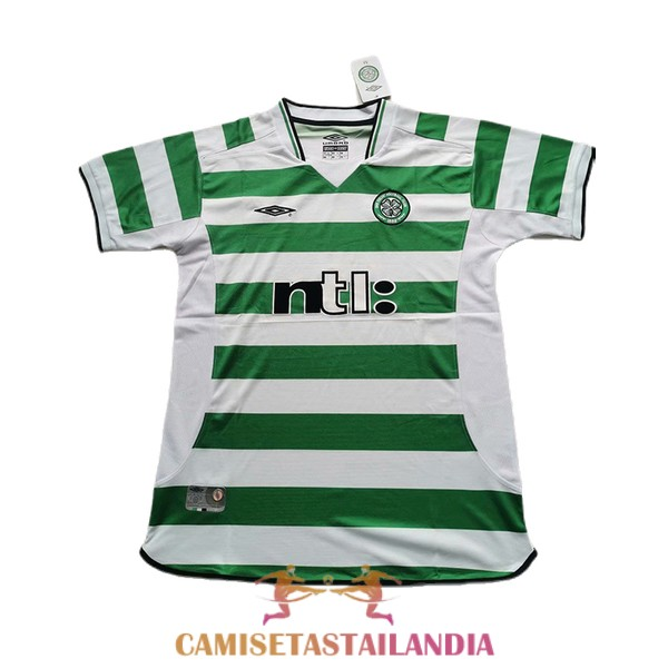 camiseta primera celtic retro 2001-2003