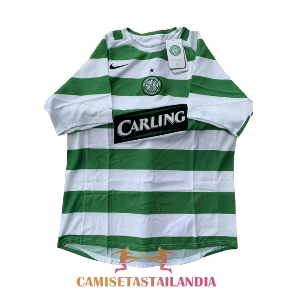 camiseta primera celtic retro 2005-2007