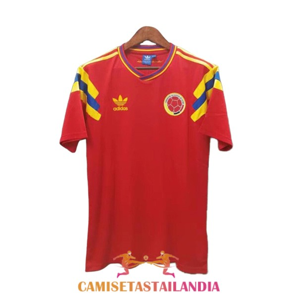 camiseta primera colombia retro 1990
