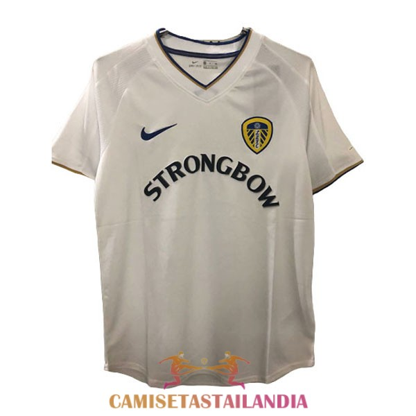 camiseta primera leeds united retro 2000-2002