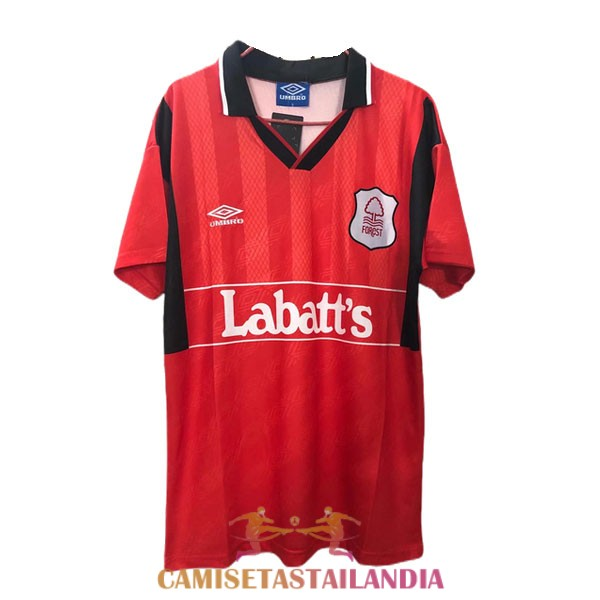 camiseta primera nottingham forest retro 1994-1996