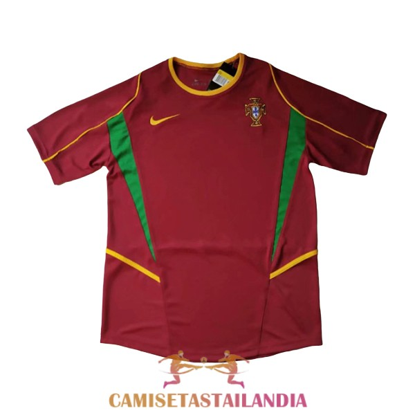 camiseta primera portugal retro 2002