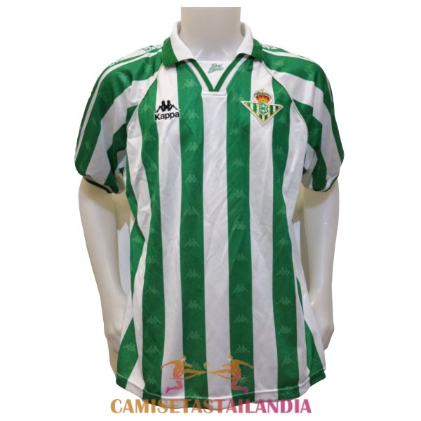camiseta primera real betis retro 1995-1997