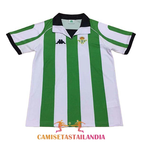 camiseta primera real betis retro 1998