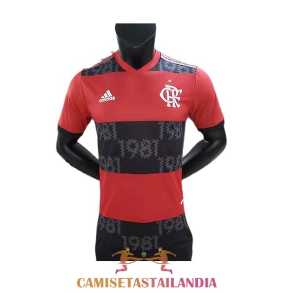 camiseta primera version player CR 1981 flamengo 2021-2022