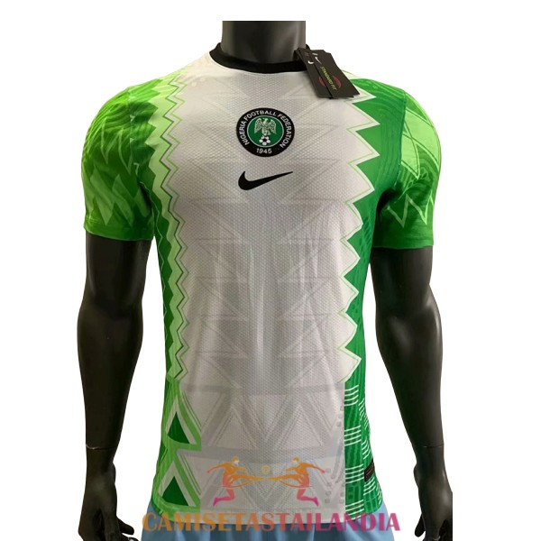 camiseta primera version player nigeria 2020