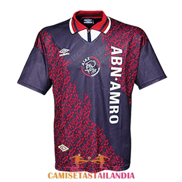 camiseta segunda ajax retro 1994-1995