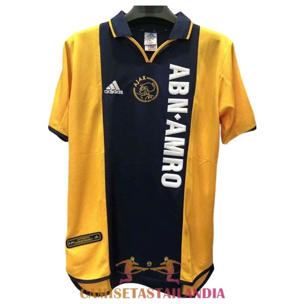 camiseta segunda ajax retro 2000-2001