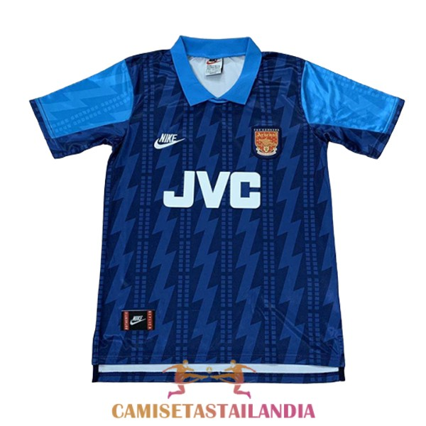 camiseta segunda arsenal retro 1994-1995