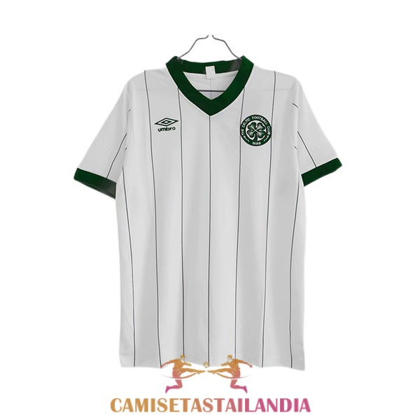 camiseta segunda celtic retro 1982-1983