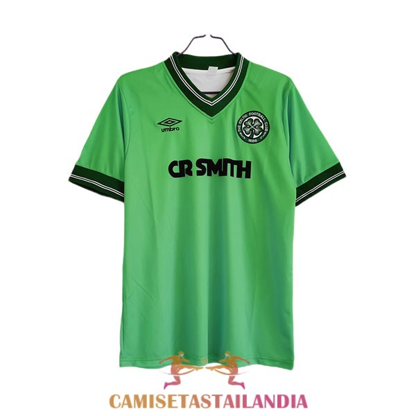 camiseta segunda celtic retro 1984-1986