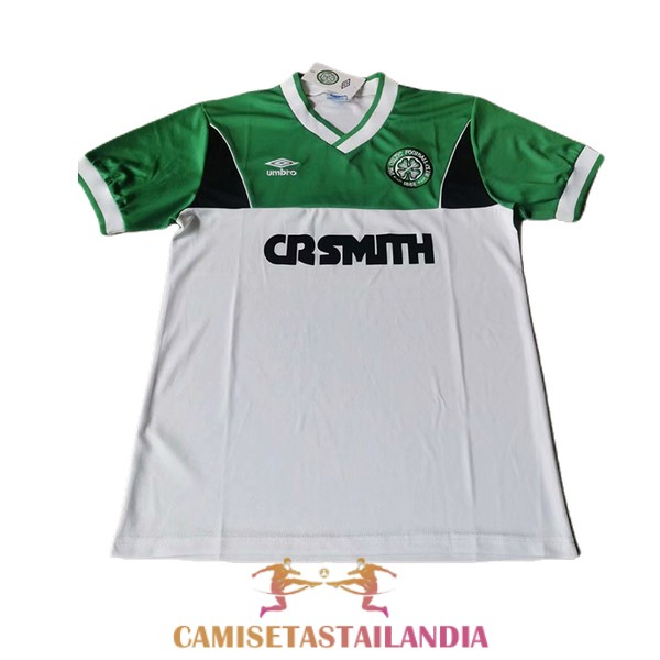 camiseta segunda celtic retro 1986-1987