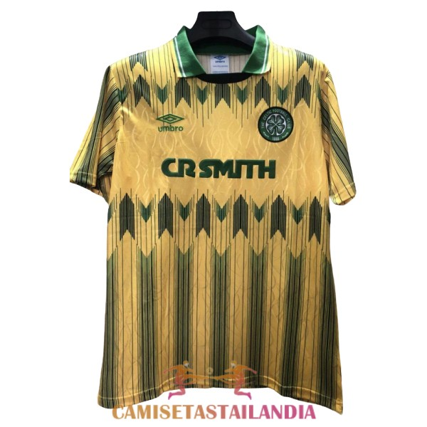 camiseta segunda celtic retro 1989-1991
