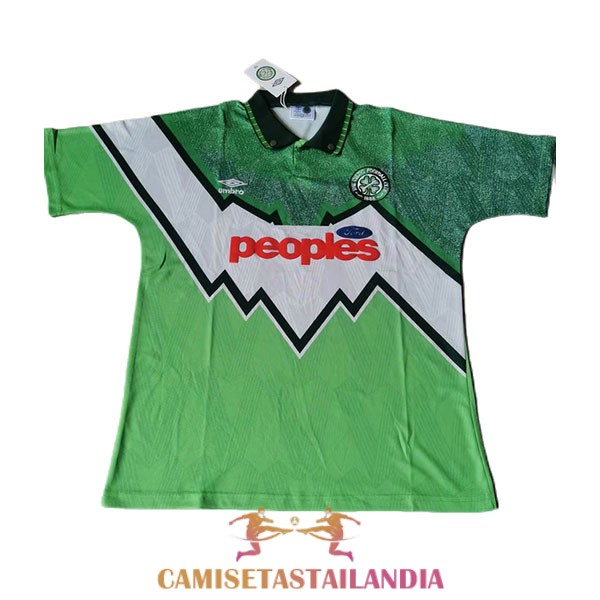 camiseta segunda celtic retro 1991-1992