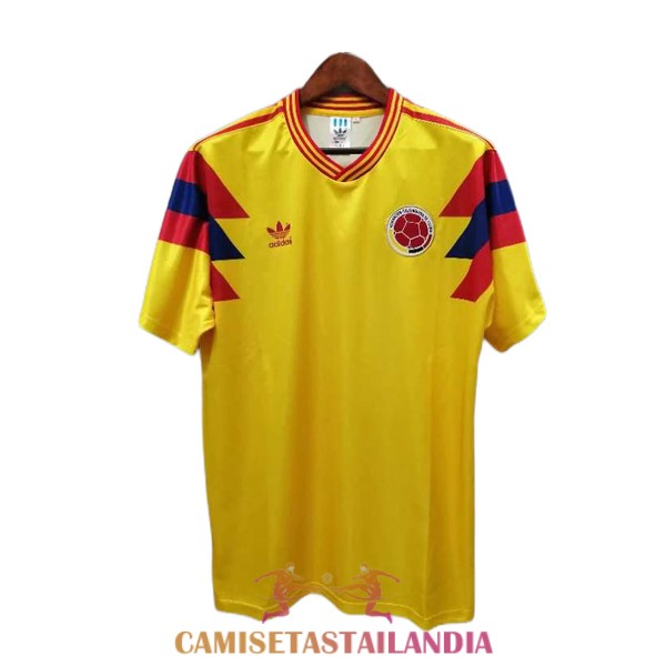 camiseta segunda colombia retro 1990