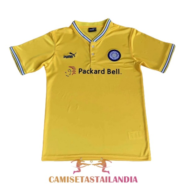 camiseta segunda leeds united retro 1996-1998