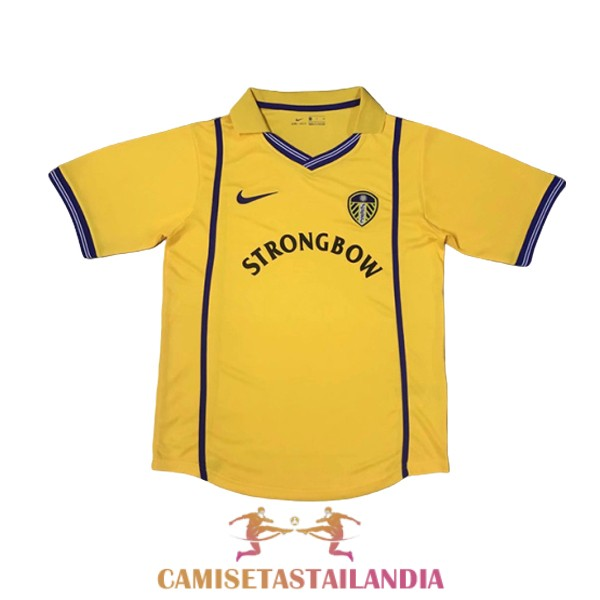 camiseta segunda leeds united retro 2000-2002