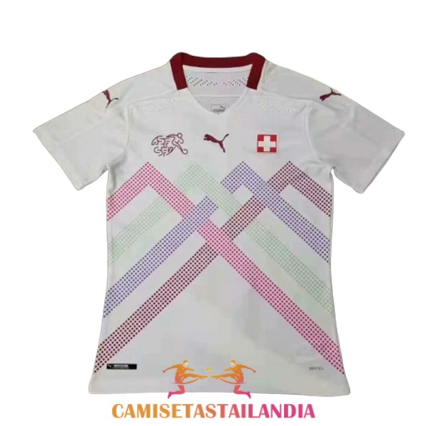 camiseta segunda version player suiza 2020