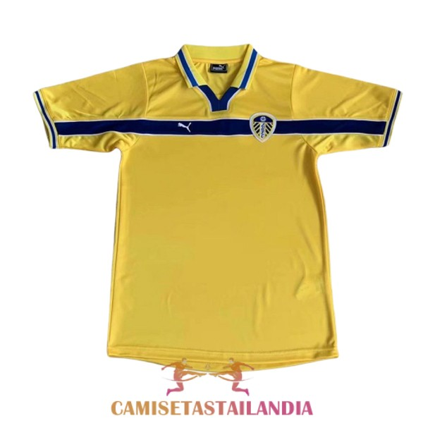 camiseta tercera leeds united retro 1999