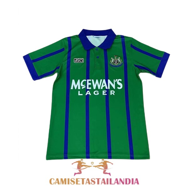 camiseta tercera newcastle united retro 1993-1995