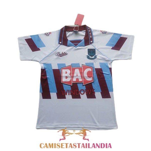 camiseta tercera west ham united retro 1991-1992
