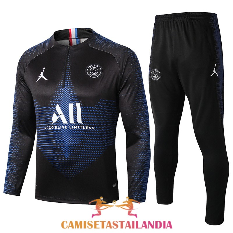 chandal azul paris saint germain cremallera 2019-2020
