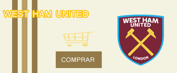 camiseta west ham united barata